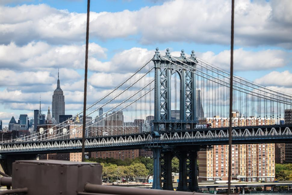 Download Free Stock HD Photo of The Manhattan Bridge Online