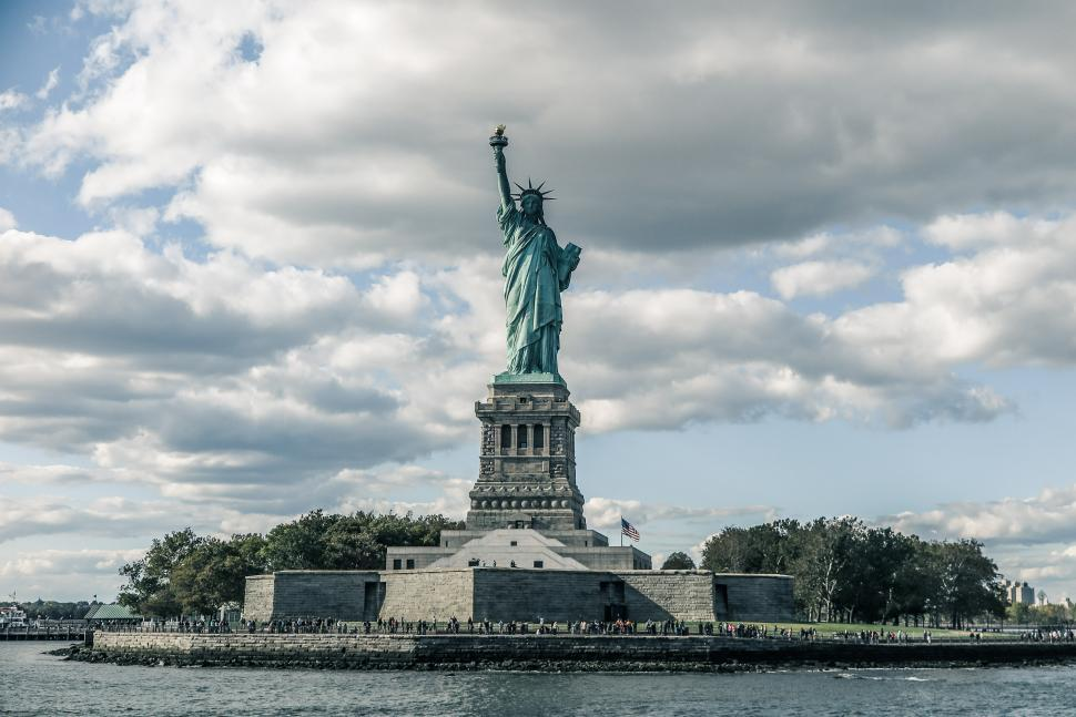 Download Free Stock HD Photo of Liberty Island Online
