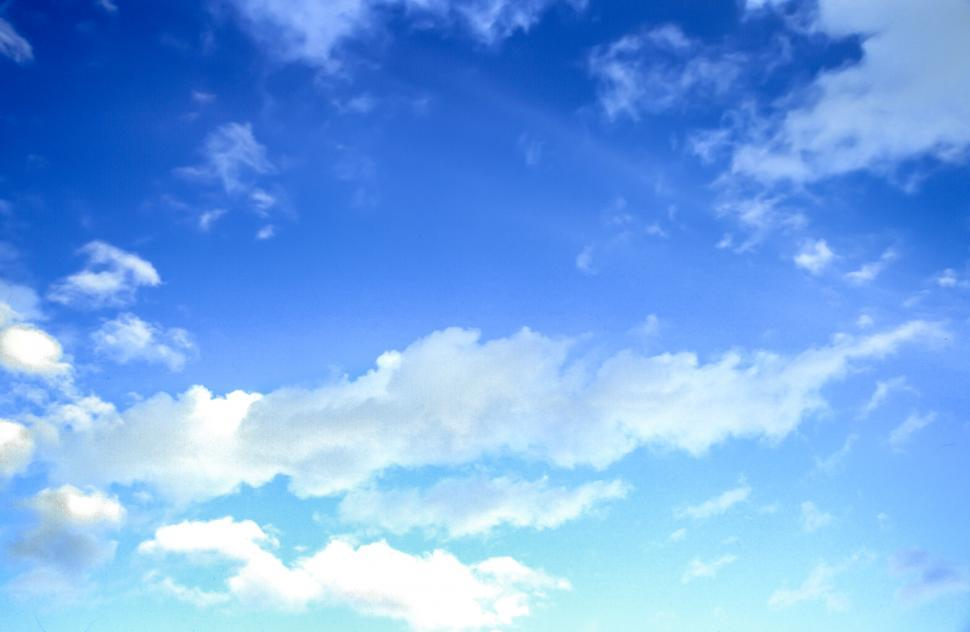 Download Free Stock HD Photo of Blue Sky and thin clouds Online