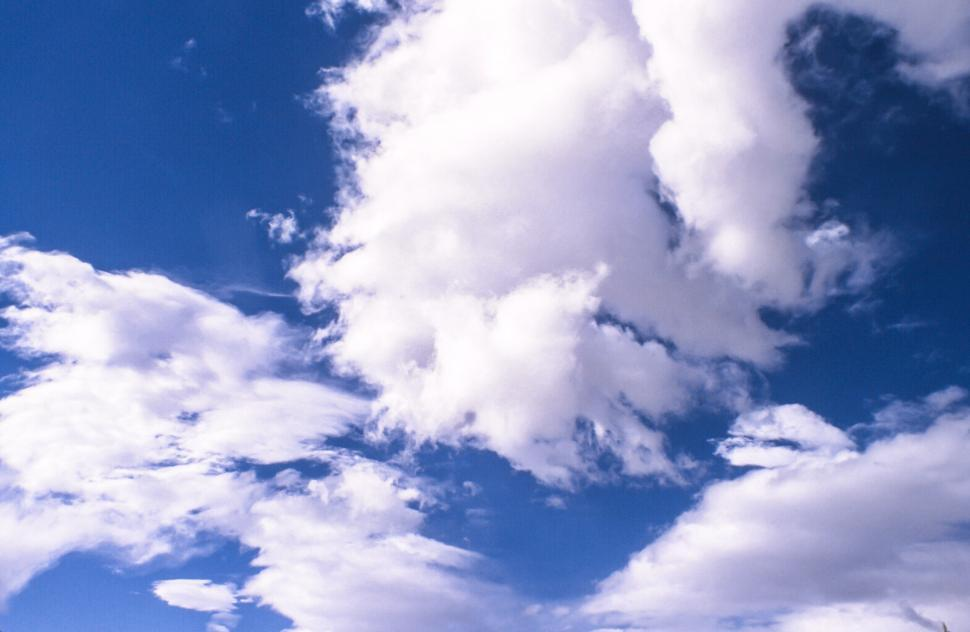 Download Free Stock HD Photo of Fluffy clouds Online