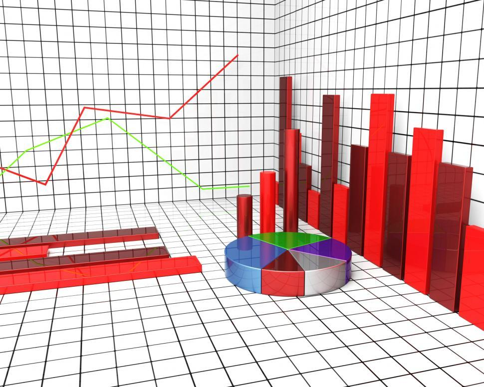 Download Free Stock HD Photo of Graph Report Means Trend Graphs And Graphic Online
