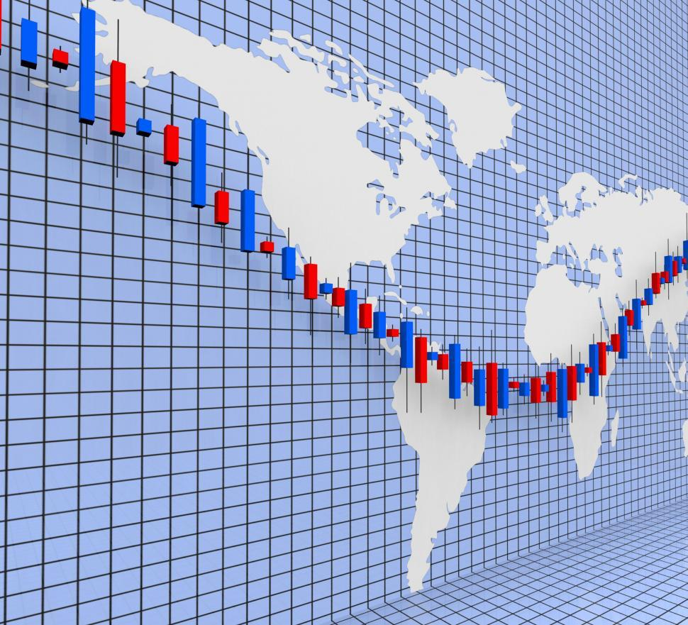 Download Free Stock HD Photo of Stocks Graph Shows World Wide And Finance Online