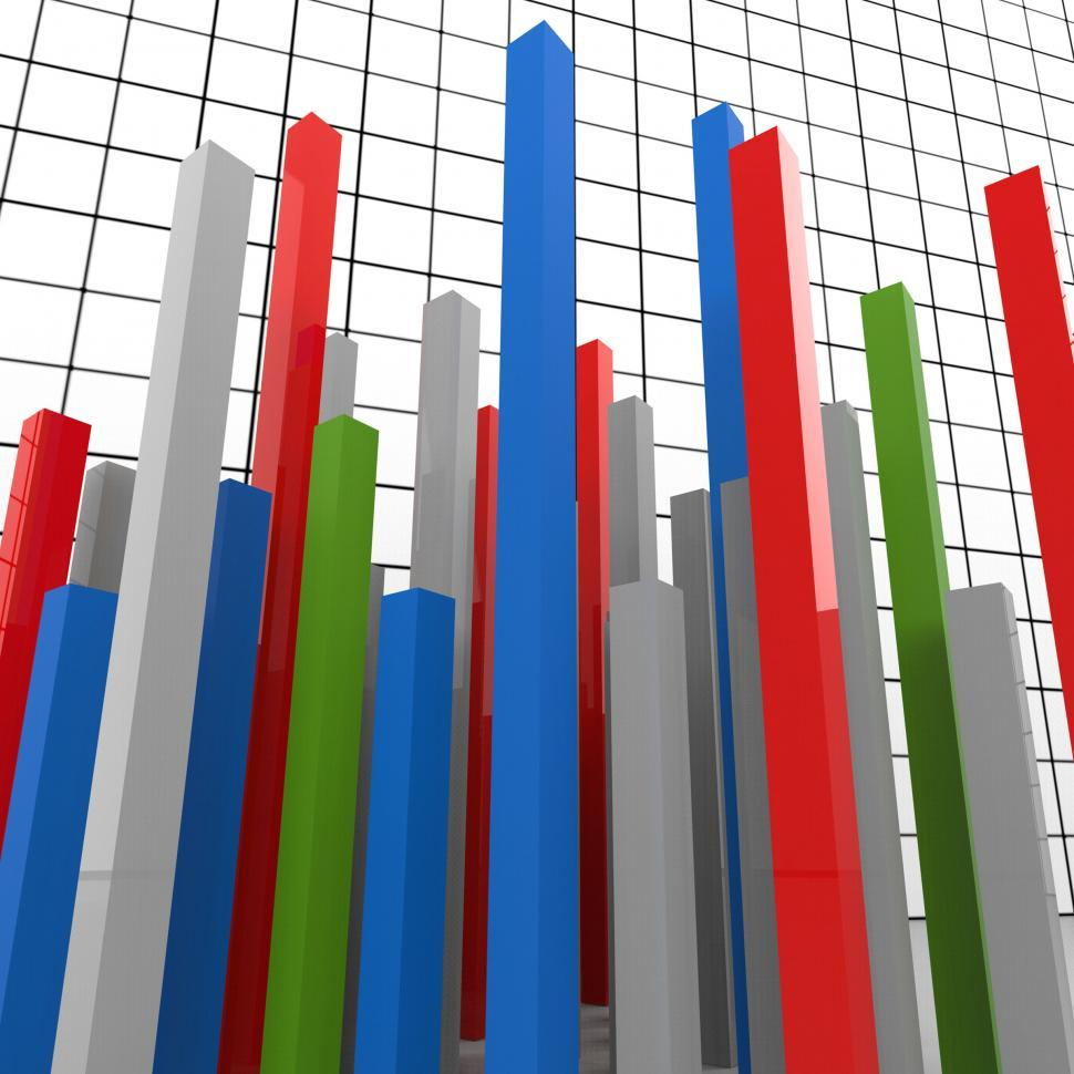 Download Free Stock HD Photo of Graph Report Represents Finance Graphic And Diagram Online