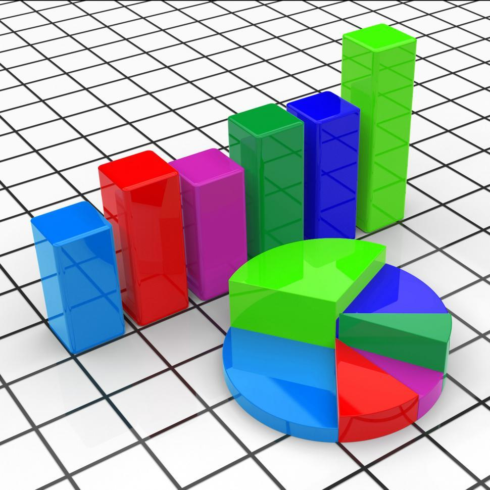 Get Free Stock Photos Of Pie Chart Report Represents Business Graph