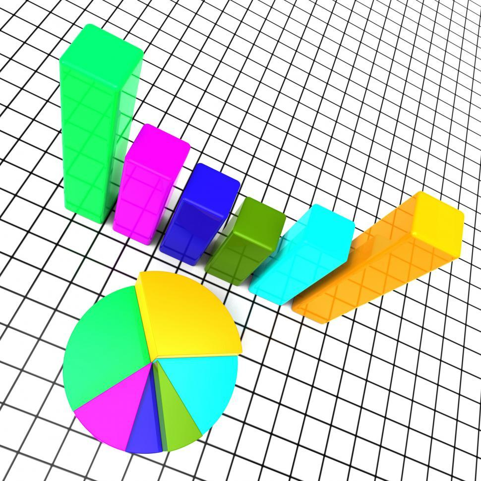 Download Free Stock HD Photo of Pie Chart Report Means Data Reports And Graph Online