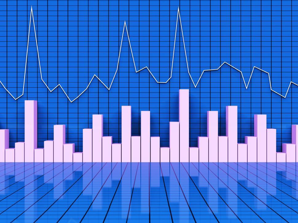 Download Free Stock HD Photo of Graph Report Shows Infograph Finance And Graphic Online