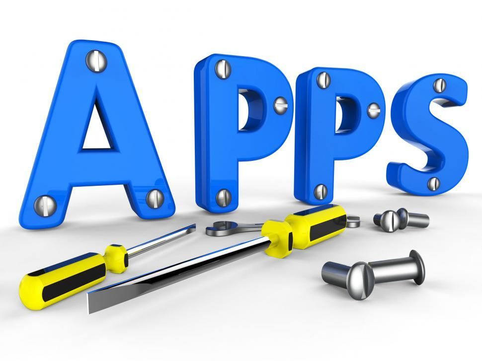 Download Free Stock HD Photo of Apps Software Shows Programs Program And Internet Online