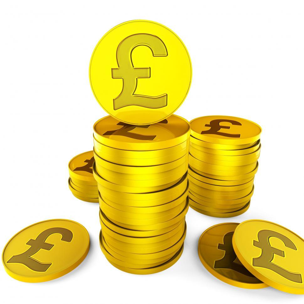 Get Free Stock Photos Of Pound Savings Indicates British Pounds And