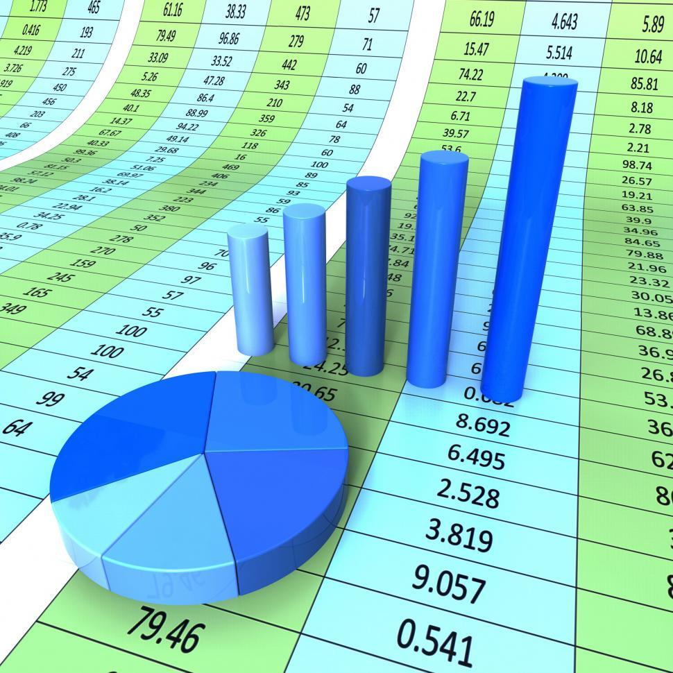 Download Free Stock HD Photo of Report Graph Shows Infograph Financial And Data Online