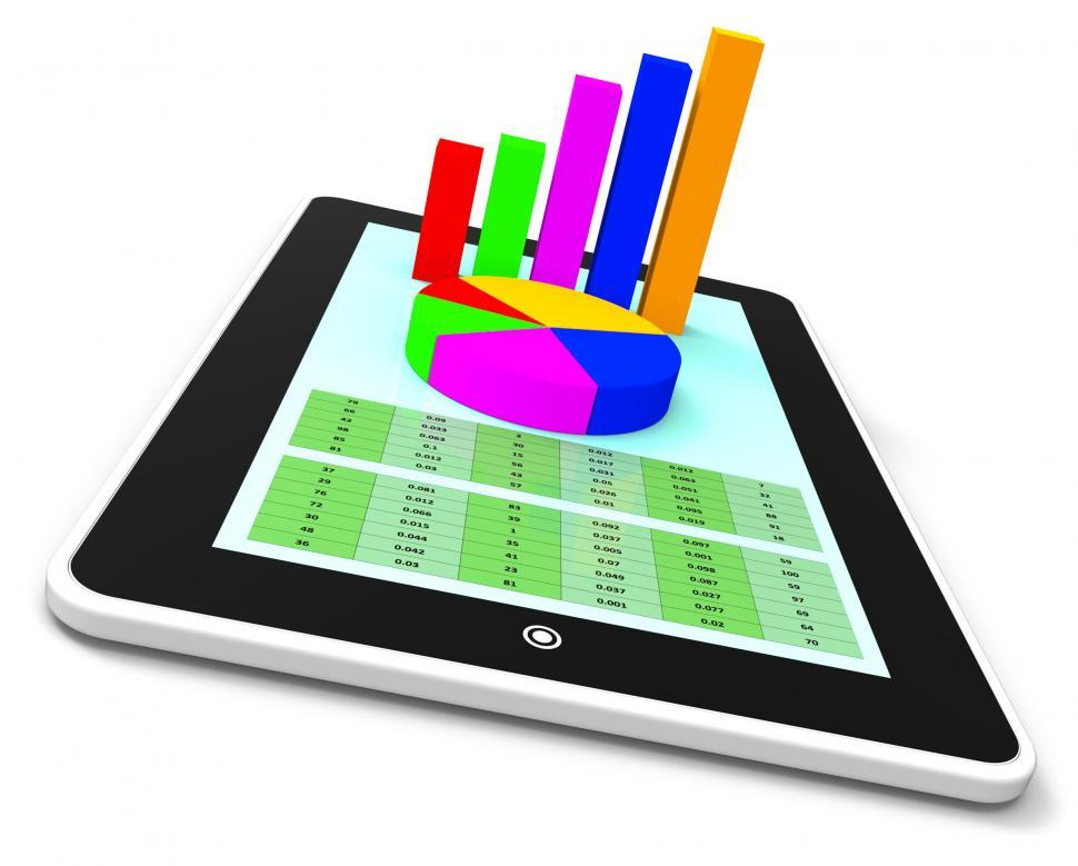 Download Free Stock HD Photo of Online Report Means World Wide Web And Analysis Online