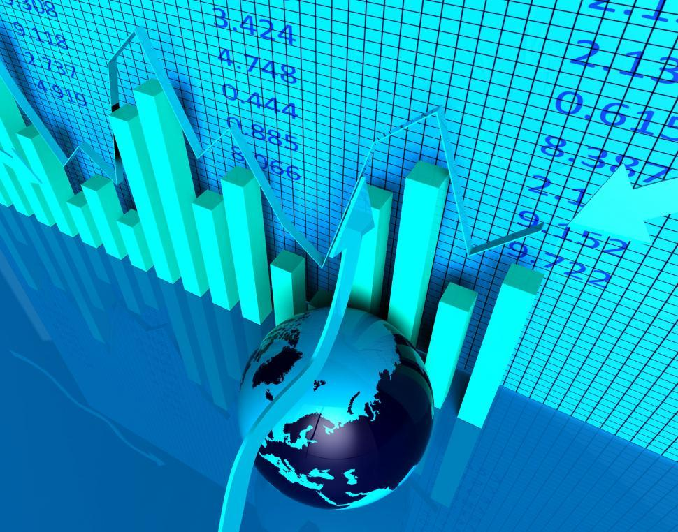 Download Free Stock HD Photo of International Report Shows Across The Globe And Analysis Online