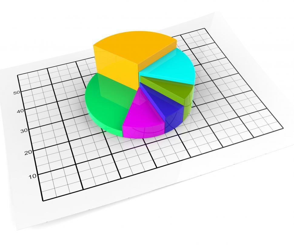 Download Free Stock HD Photo of Pie Chart Shows Business Graph And Graphic Online