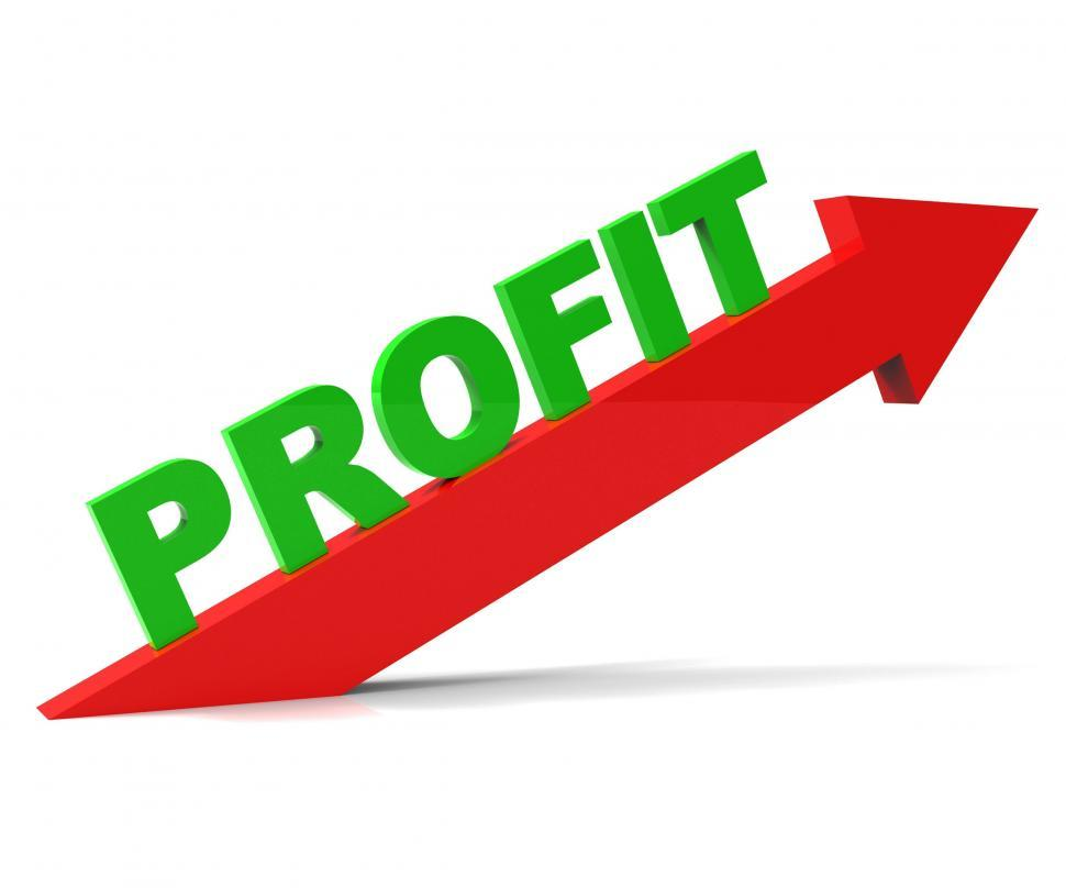 Download Free Stock HD Photo of Increase Profit Means Upwards Raise And Revenue Online