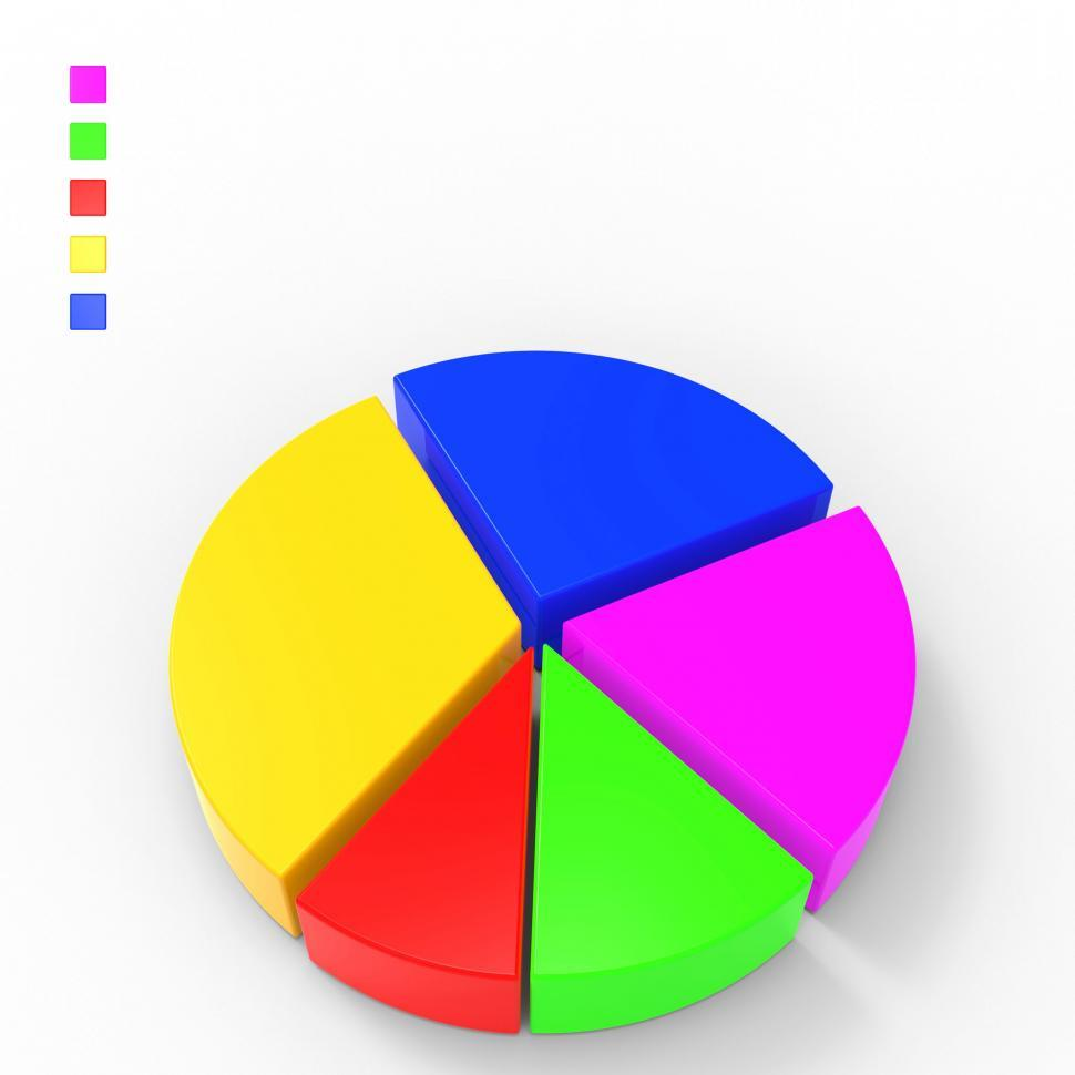 Download Free Stock HD Photo of Pie Chart Indicates Business Graph And Charts Online