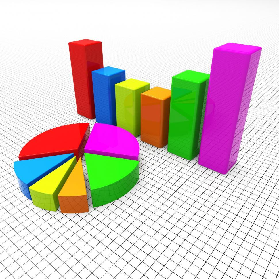Get Free Stock Photos Of Pie Chart Shows Business Graph And Charting