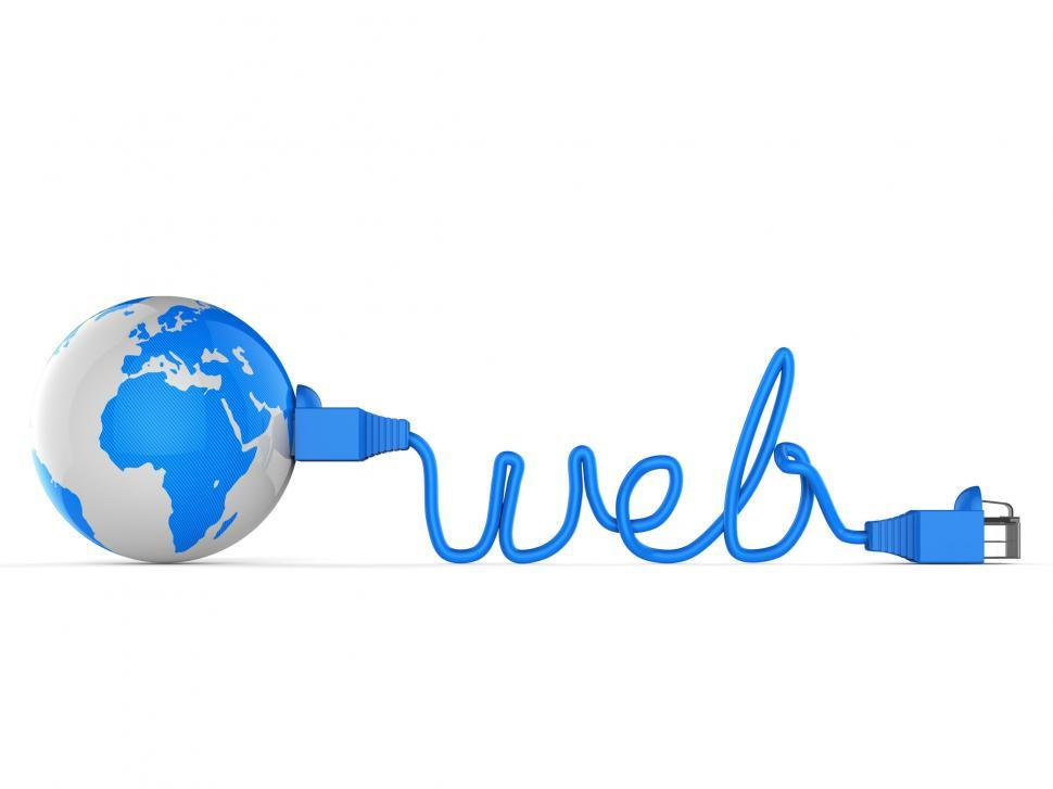 Download Free Stock HD Photo of Worldwide Web Represents Globe Searching And Net Online