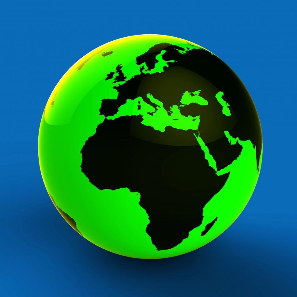 Download Free Stock HD Photo of Europe Africa Globe Shows World Countries And Globally Online