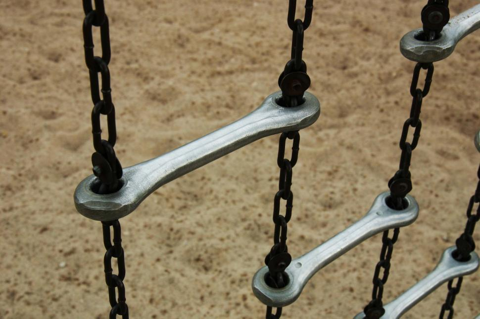 Download Free Stock HD Photo of Playground chain ladder Online