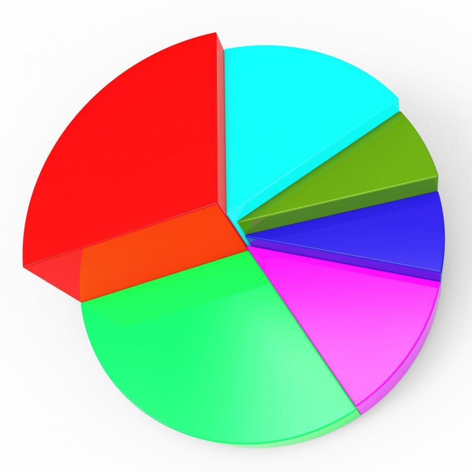 Download Free Stock HD Photo of Pie Chart Represents Business Graph And Diagram Online