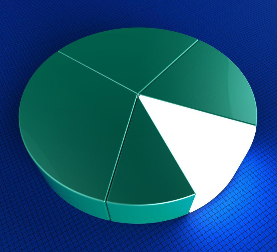 Download Free Stock HD Photo of Pie Chart Indicates Forecast Statistics And Figures Online