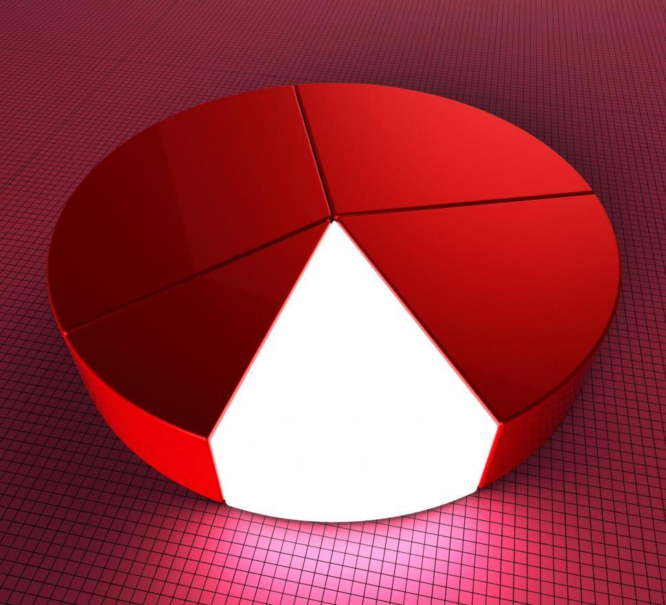 Download Free Stock HD Photo of Pie Chart Shows Statistic Profit And Graphics Online