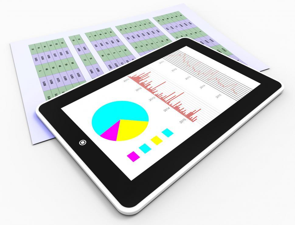 Download Free Stock HD Photo of Online Reports Represents Business Graph And Analysis Online