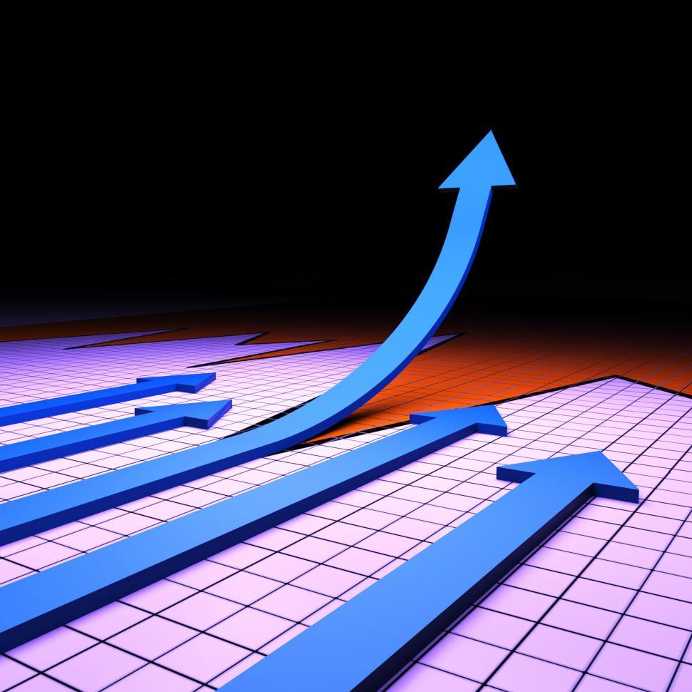 Download Free Stock HD Photo of Success Graph Represents Financial Report And Analysis Online
