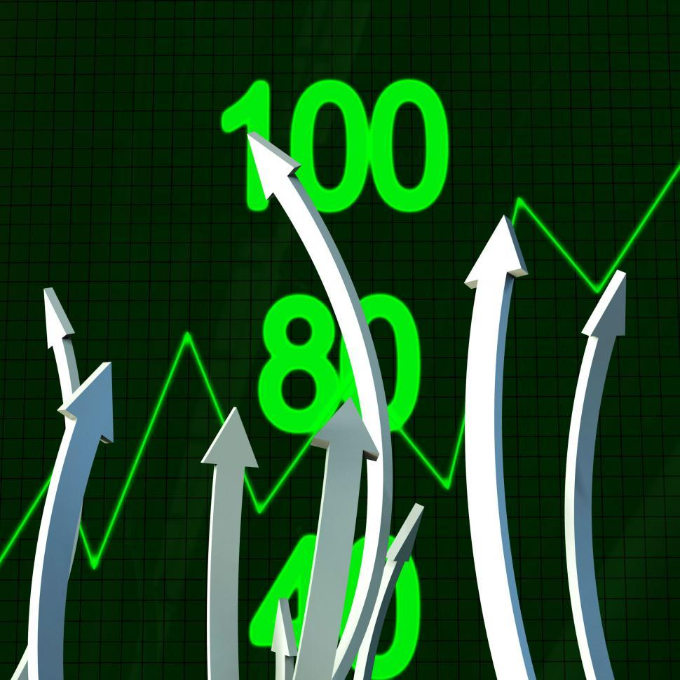 Download Free Stock HD Photo of Progress Arrows Represents Business Graph And Analysis Online
