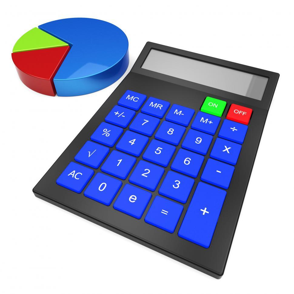 Download Free Stock HD Photo of Calculate Statistics Means Charting Figures And Calculator Online