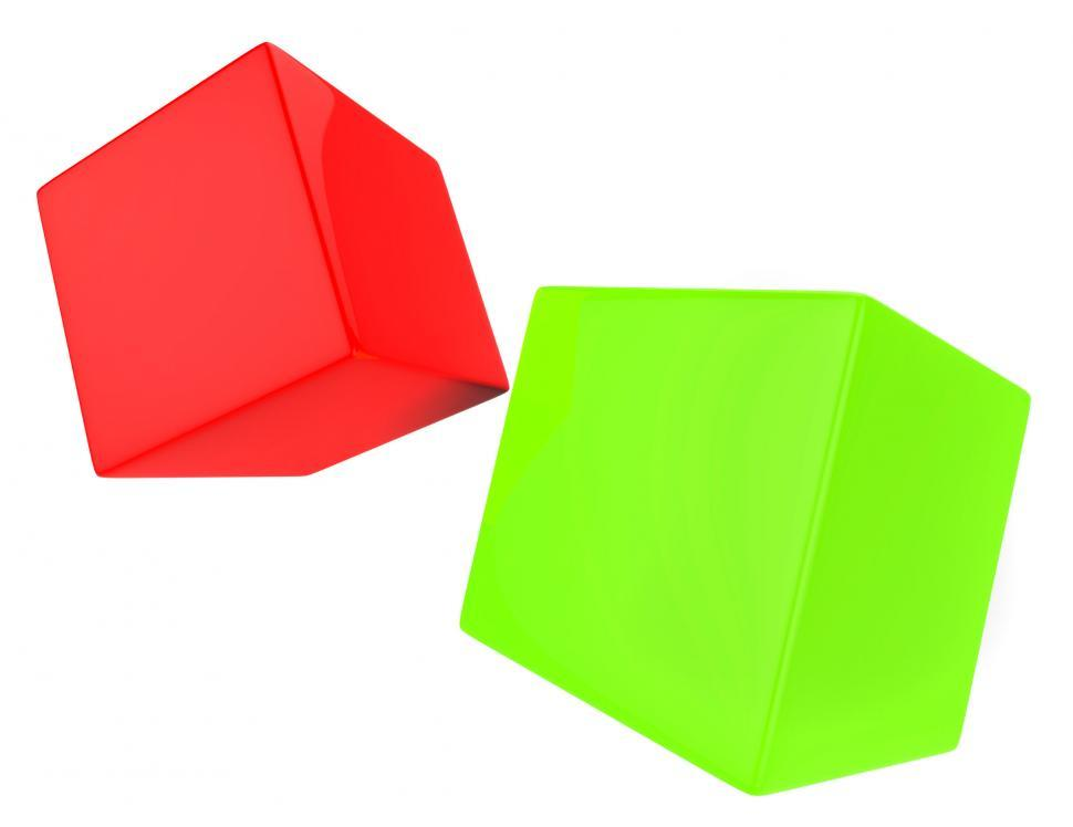 Download Free Stock HD Photo of Dice Blocks Indicates Blank Space And Bet Online