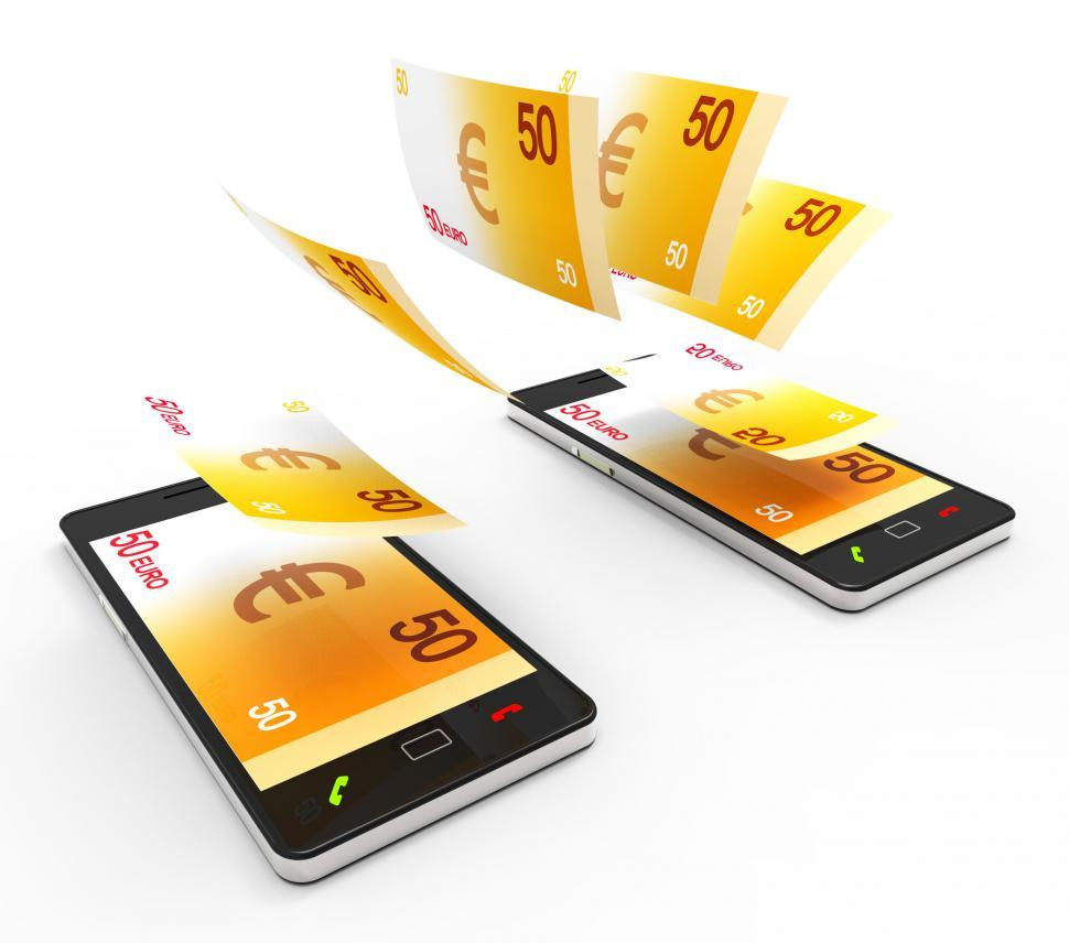 Free Stock Hd Photo Of Transfer Euros Online Means World Wide Web And Wealthy