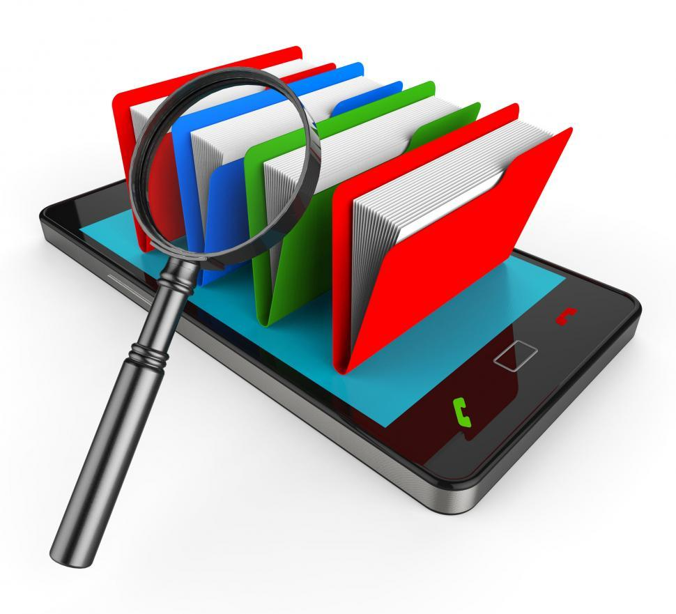 Download Free Stock HD Photo of Search File Online Means Web Site And Administration Online