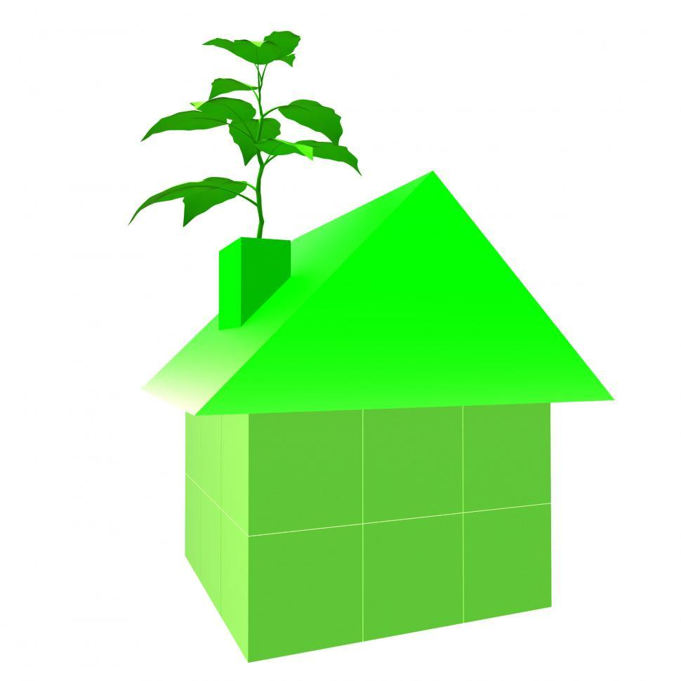 Download Free Stock HD Photo of Eco Friendly House Indicates Go Green And Building Online