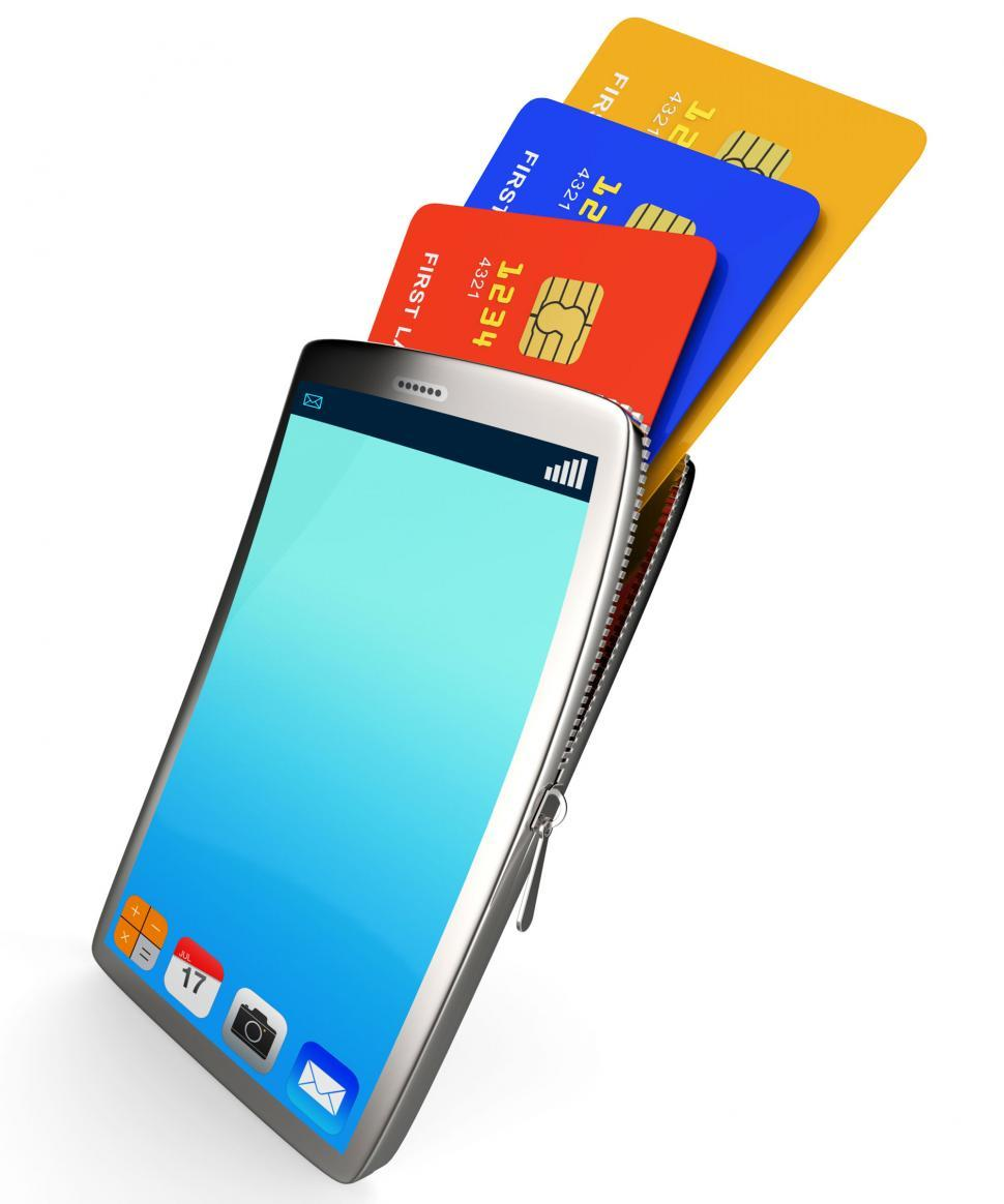 Download Free Stock HD Photo of Credit Card Online Represents World Wide Web And Bought Online