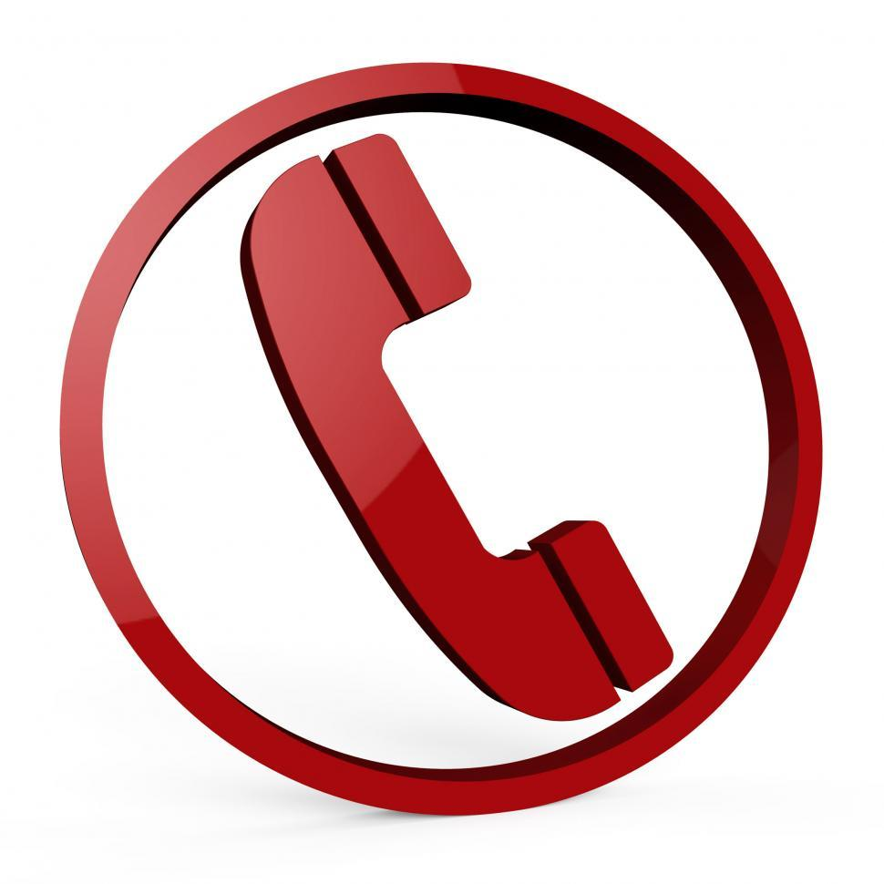 Download Free Stock HD Photo of Call Us Service Means Help Desk And Chat Online