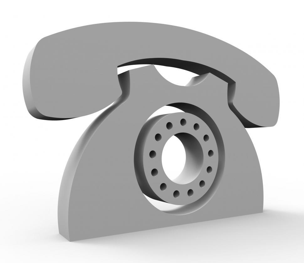 Download Free Stock HD Photo of Call Us Service Means Services Communicating And Talking Online