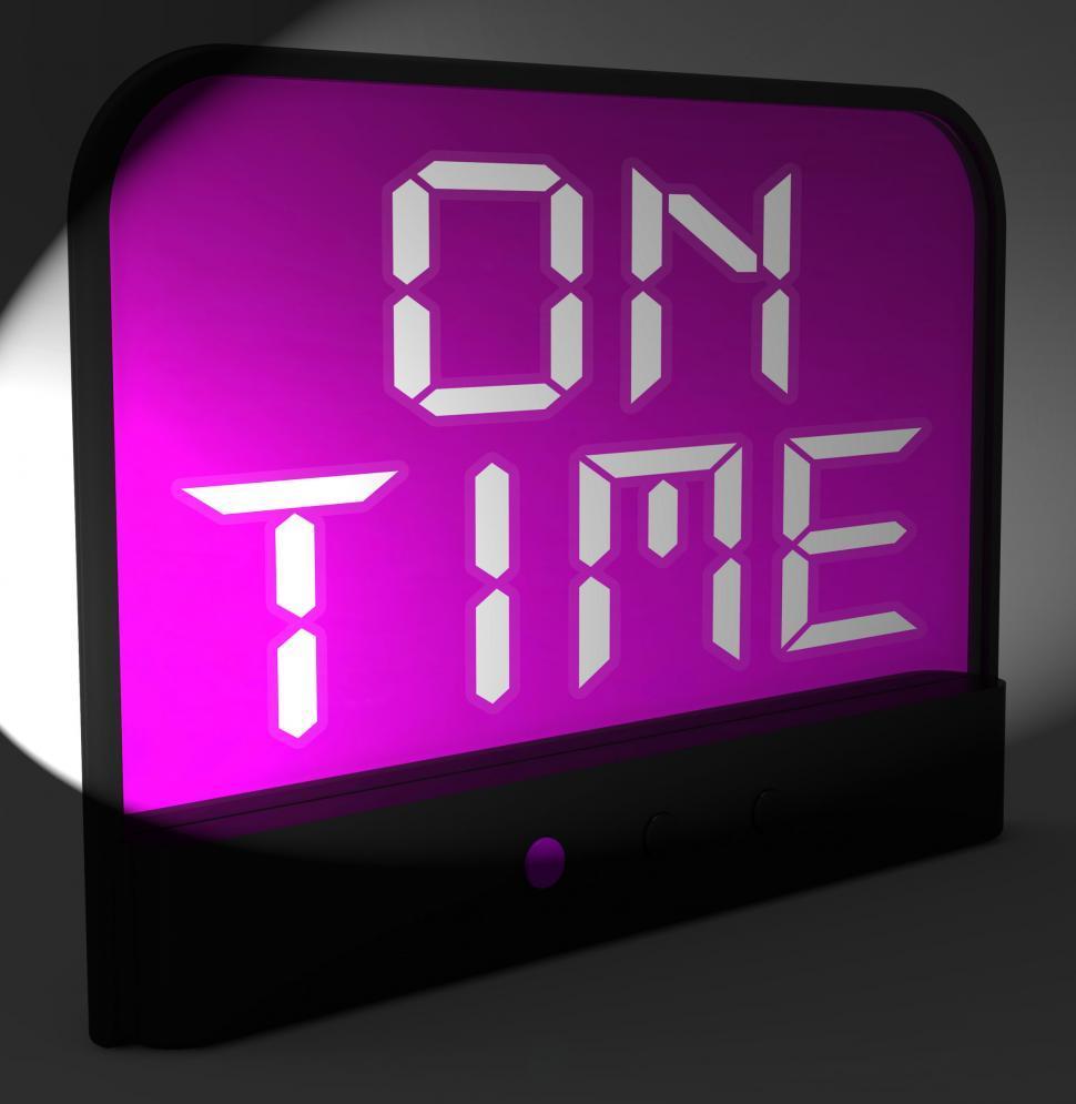 Online digital clock with date in Sydney