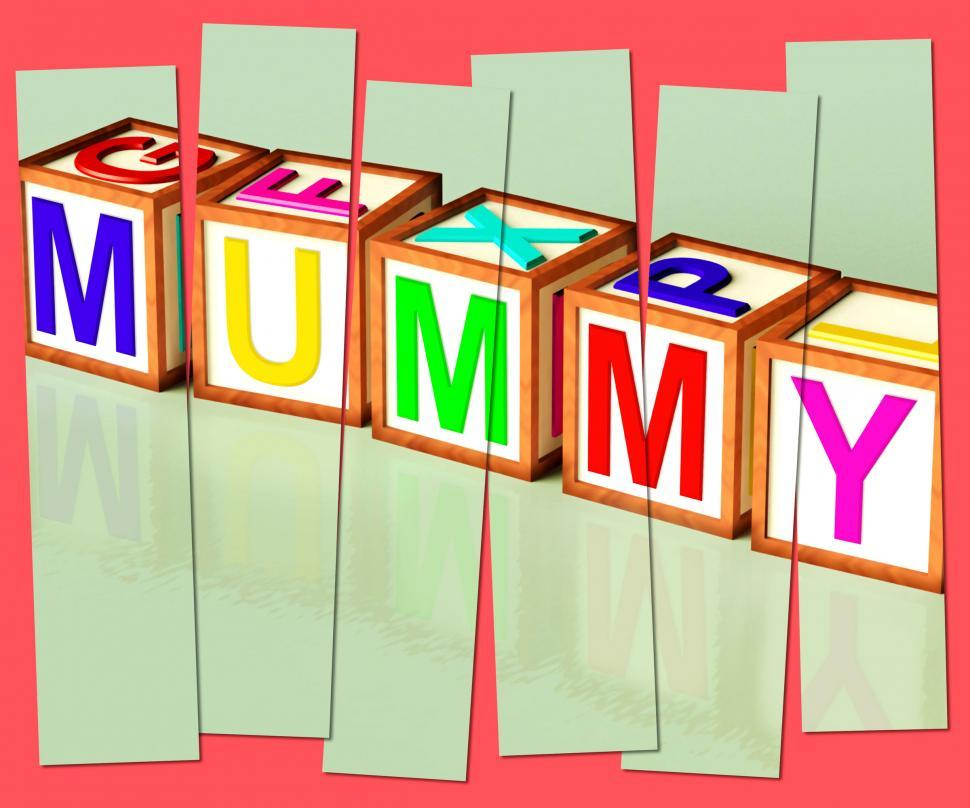 Download Free Stock HD Photo of Mummy Word Mean Mum Parenthood And Children Online