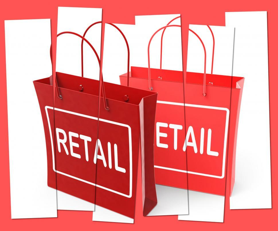 Download Free Stock HD Photo of Retail Shopping Bags Show  Commercial Sales and Commerce Online