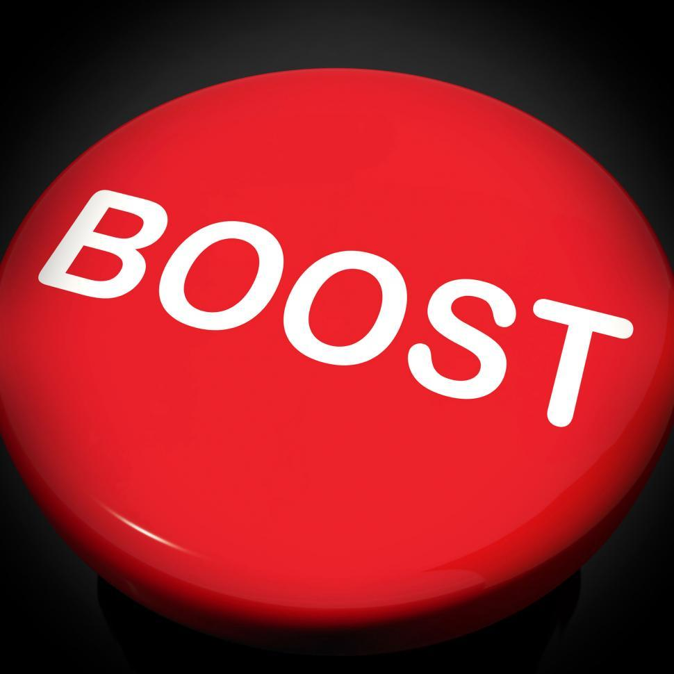 Download Free Stock HD Photo of Boost Switch Shows Promote Increase Encourage Online