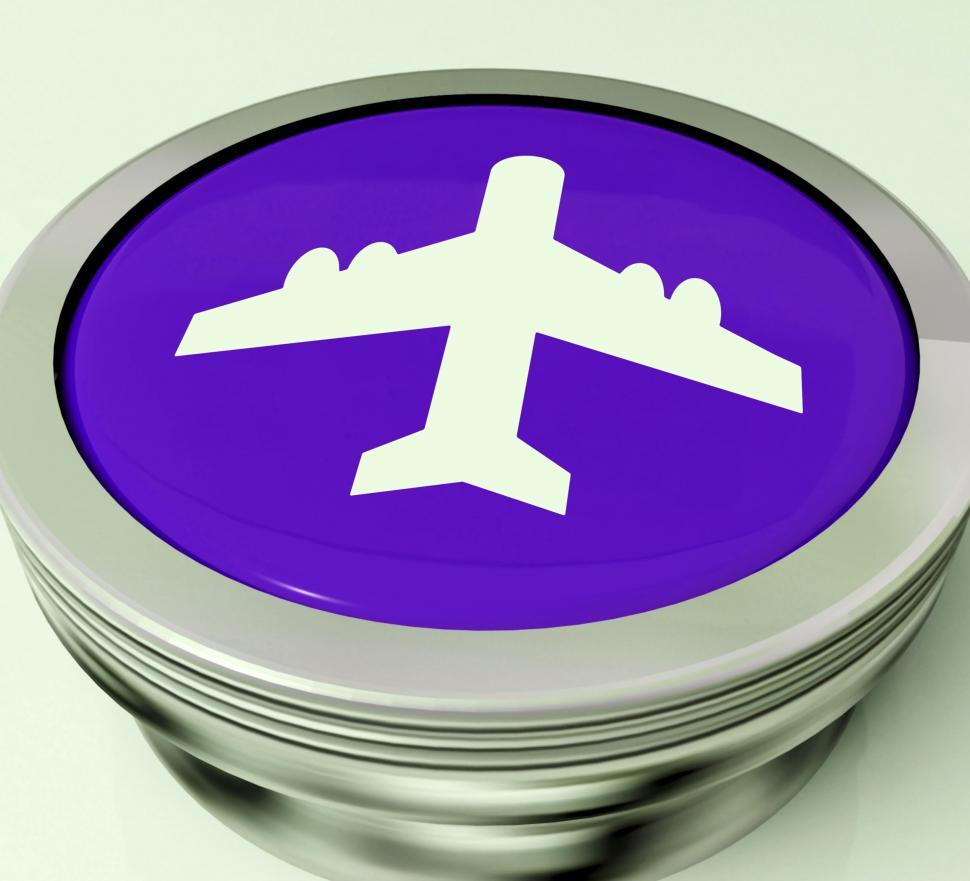 Download Free Stock HD Photo of Plane Switch Means Travel Or Vacation Online
