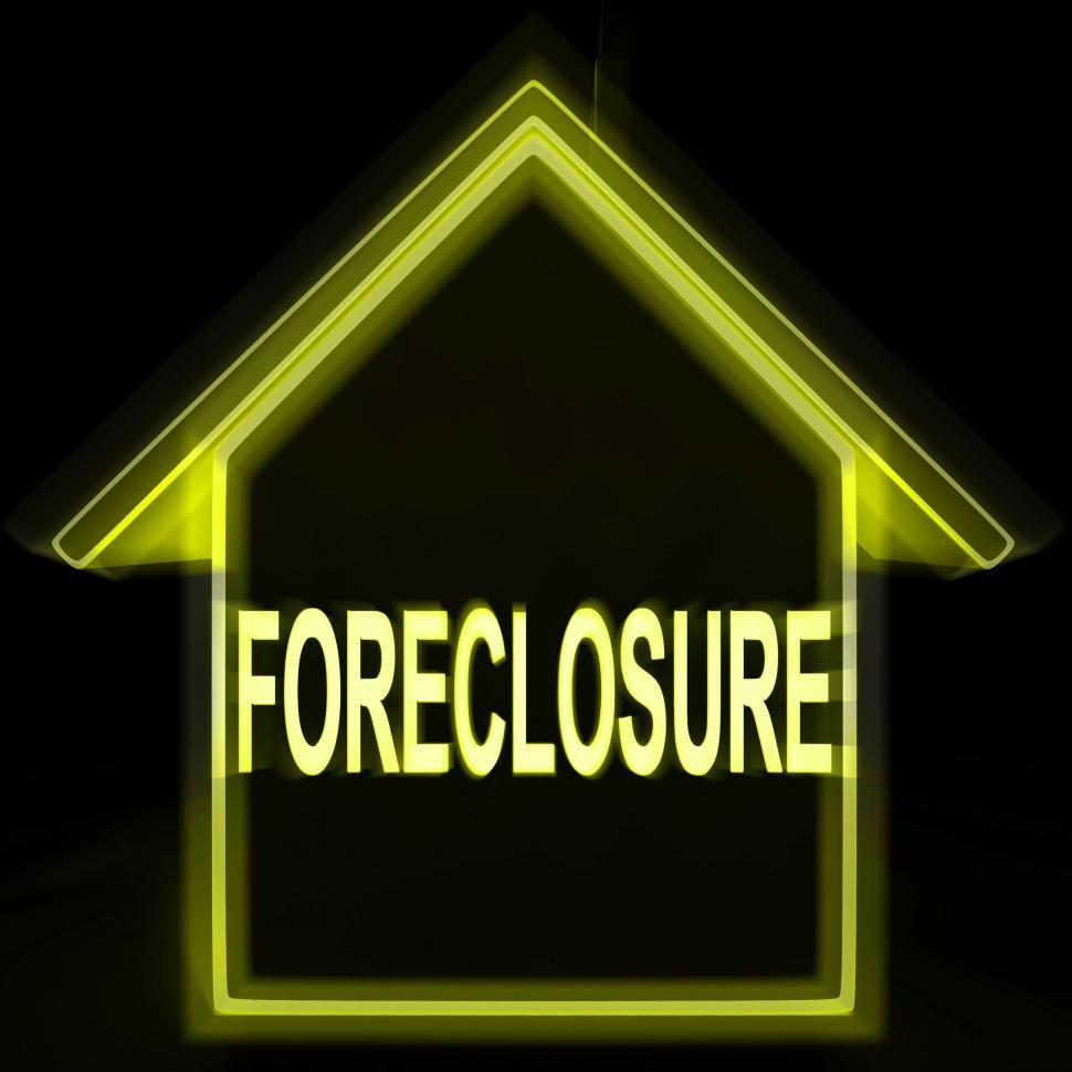 Download Free Stock HD Photo of Foreclosure House Home Repossession To Recover Debt Online