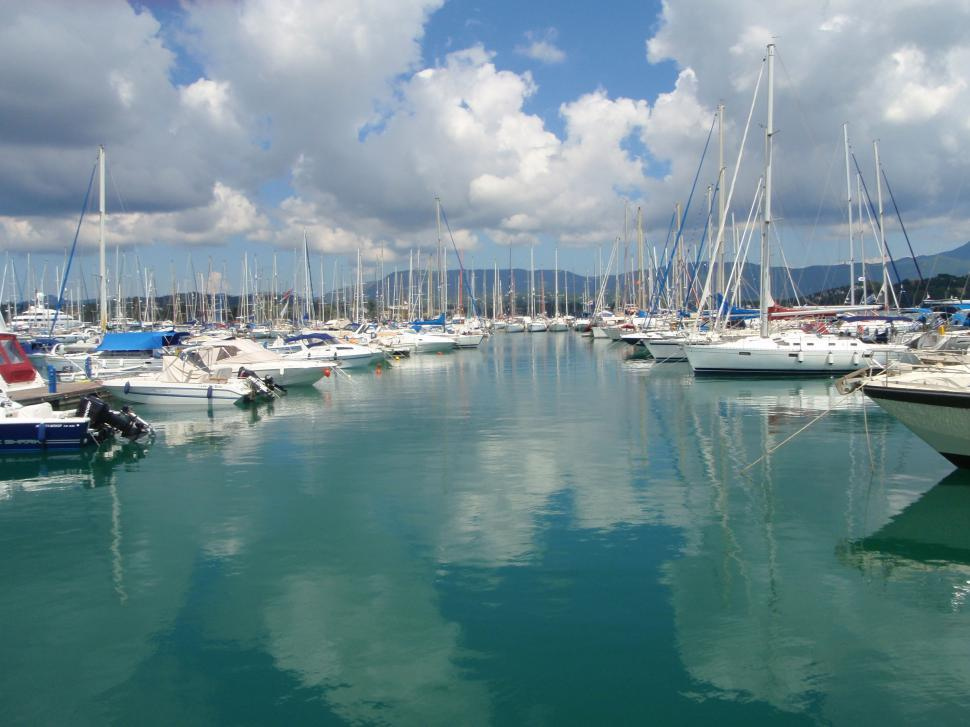 Download Free Stock HD Photo of Gouvia Marina, Corfu, Greece Online