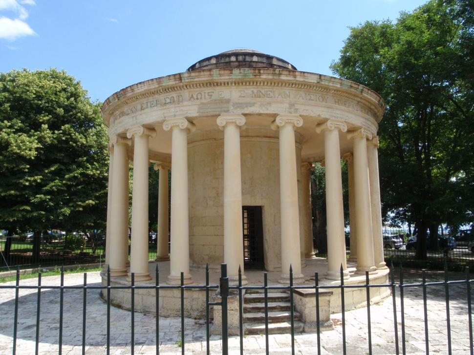 Download Free Stock HD Photo of Around Corfu, The Rotunda, Corfu Town. Greece. Online