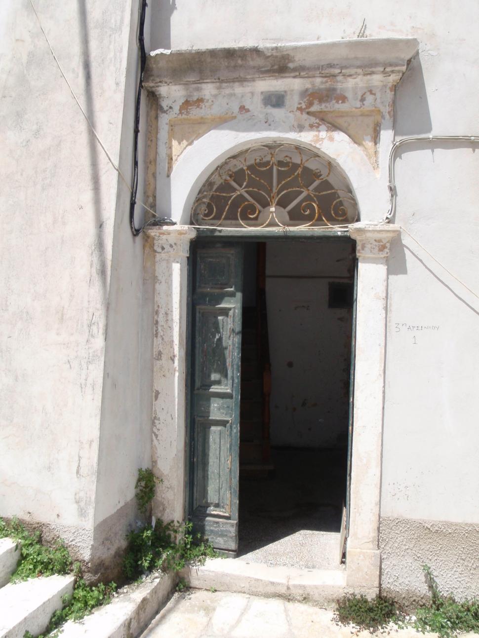 Download Free Stock HD Photo of Around Corfu, Door-way entrance. Online