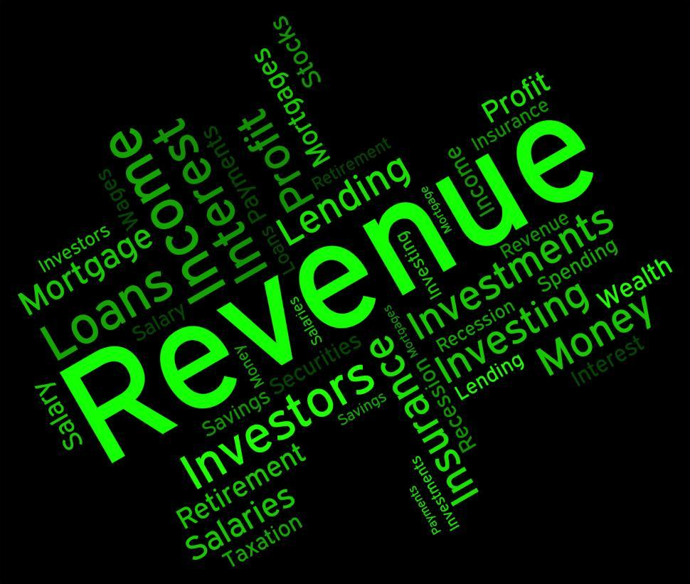 Download Free Stock HD Photo of Revenue Word Represents Words Wordcloud And Revenues Online