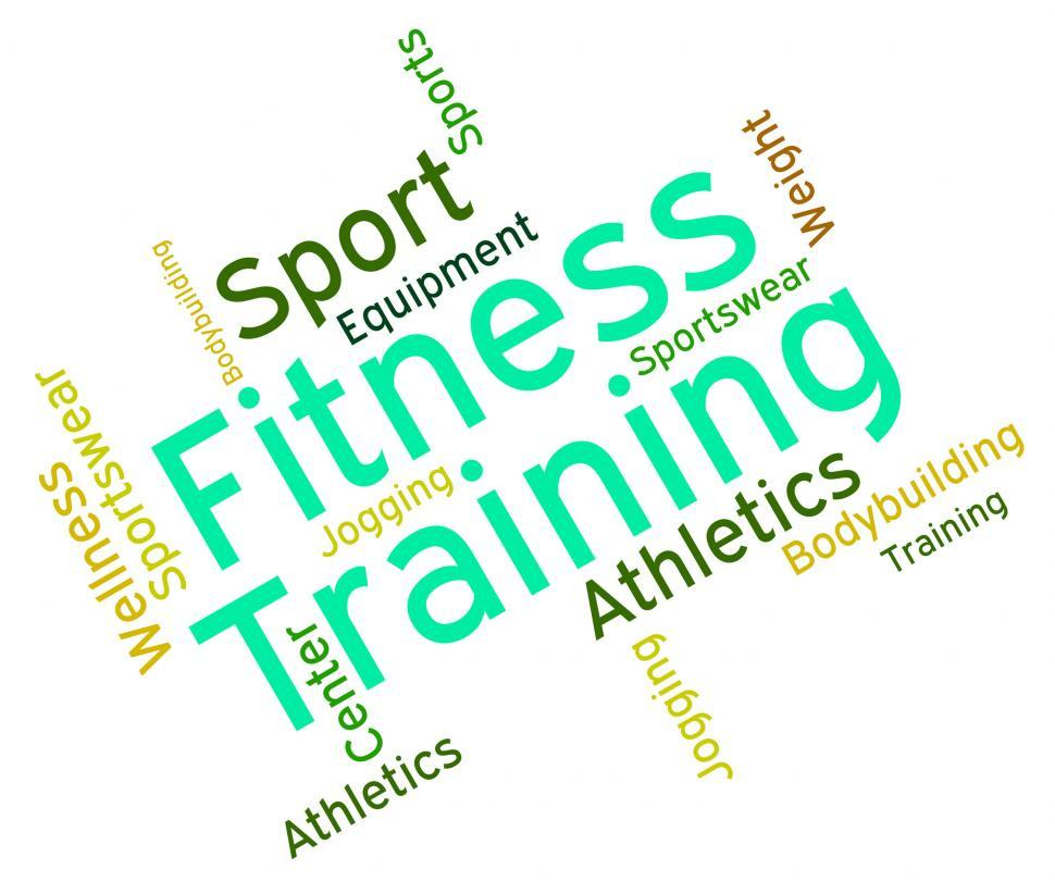 Download Free Stock HD Photo of Fitness Training Represents Physical Activity And Exercise Online