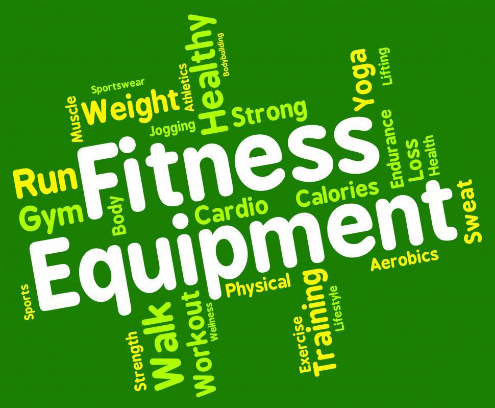 Download Free Stock HD Photo of Fitness Equipment Means Trained Equipments And Athletic Online
