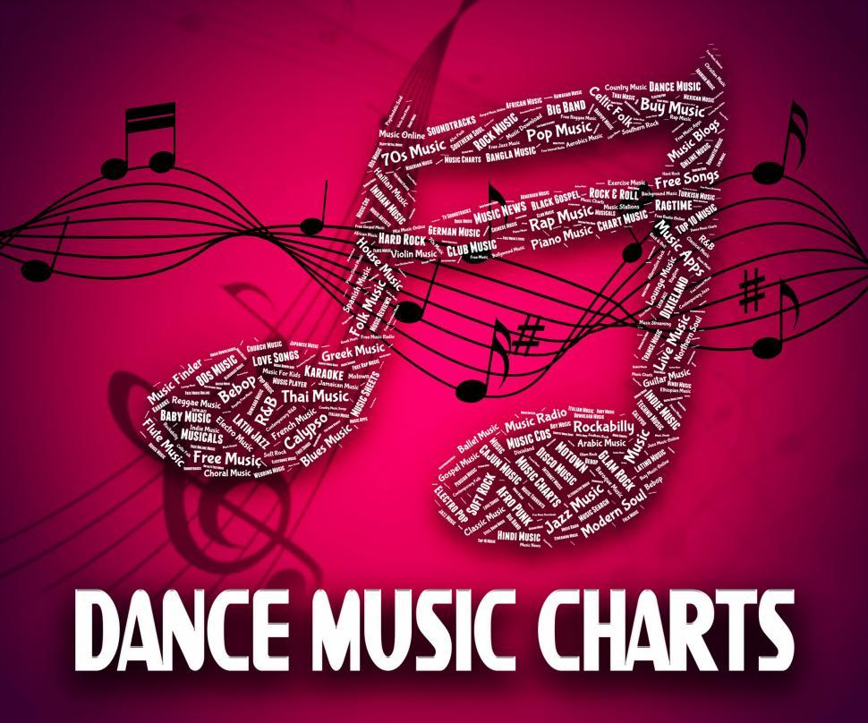 Download Free Stock HD Photo of Dance Music Charts Means Hit Parade And Disco Online