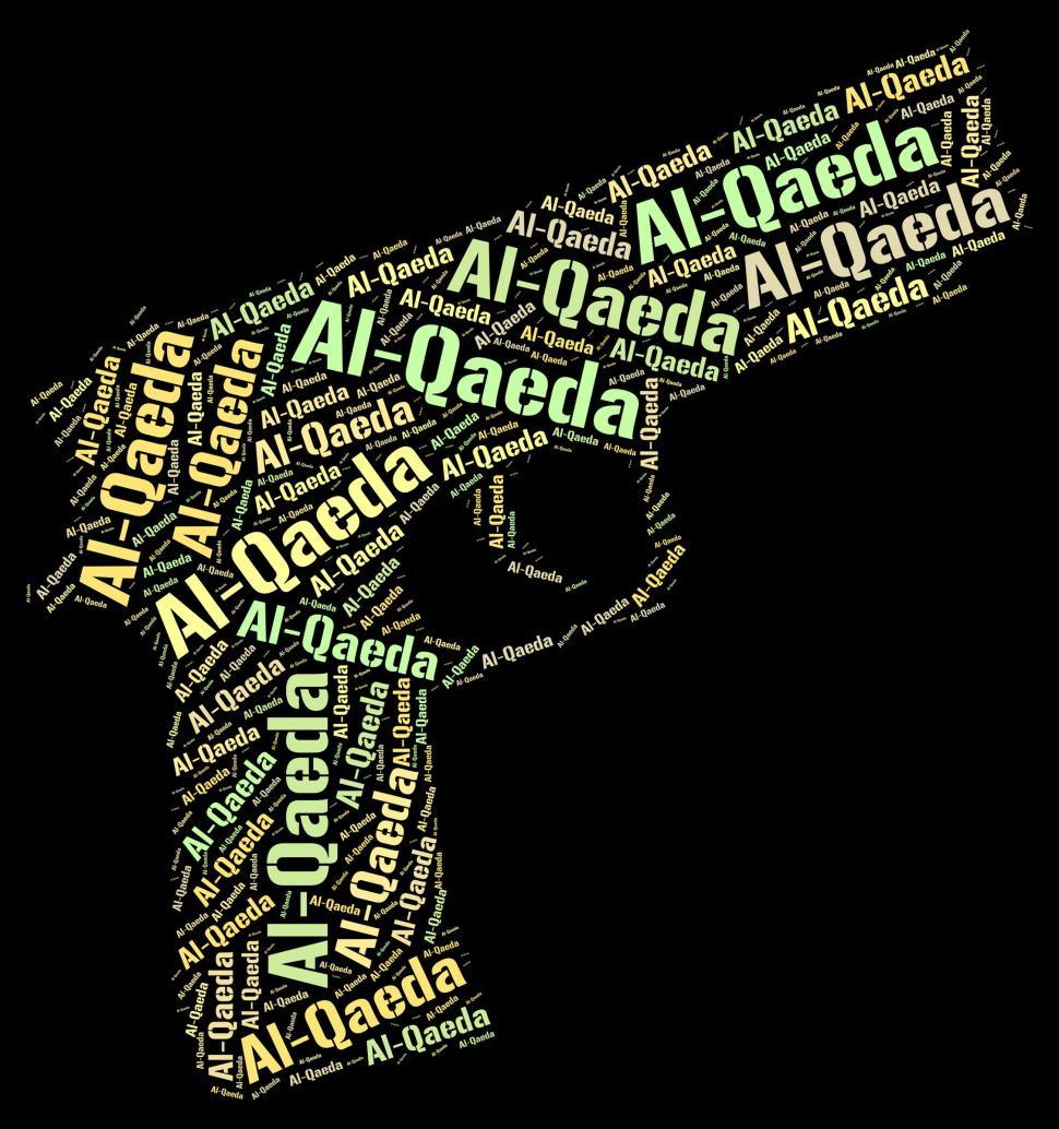 Download Free Stock HD Photo of Al-Qaeda Word Represents Freedom Fighter And Anarchist Online